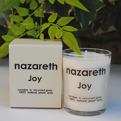 nazareth gifts scented candle