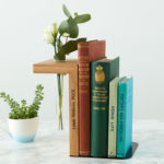 Solid Oak Personalised Bookend by MijMoj Design