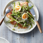 Healthy Ways to Flatten the Curve from Too Much Covid Eating + My Café Style Smoked Salmon, Eggs and Asparagus